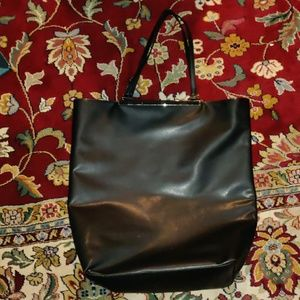 French connection overnighter tote bag